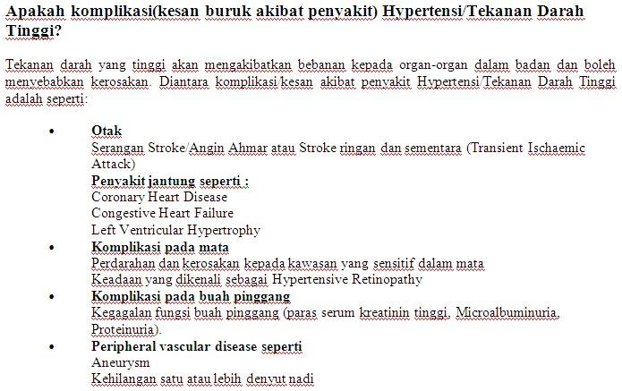 Kaunter Pemeriksaan Tekanan Darah Kakitangan JPS Sabah 1613