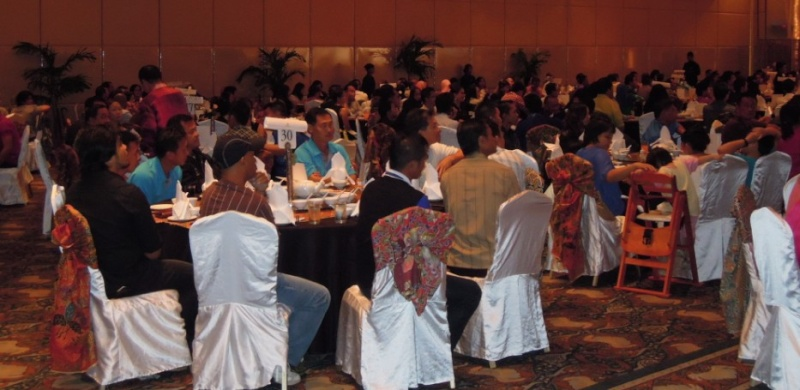 Unity In Diversity Through KSH JPS Sabah Dinner 2012 1619