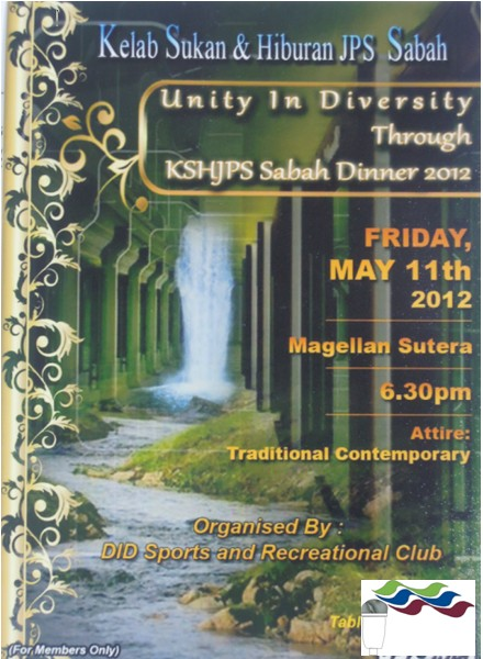 Unity In Diversity Through KSH JPS Sabah Dinner 2012 165