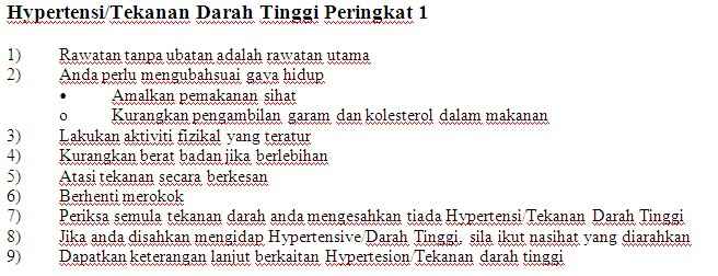 Kaunter Pemeriksaan Tekanan Darah Kakitangan JPS Sabah 1812