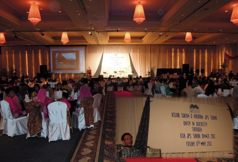Unity In Diversity Through KSH JPS Sabah Dinner 2012 1919