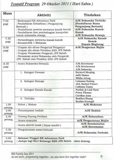 HARI KELUARGA KELAB SUKAN & HIBURAN INDUK JPS SABAH DI KK ADVENTURE PARK BERINGGIS, PAPAR (29HB.OKT 2011) 215