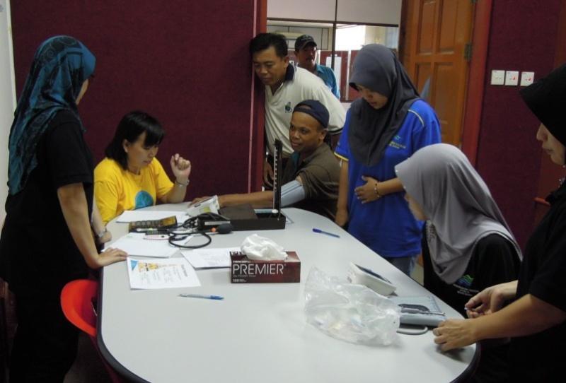 Sesi Seminar Kesihatan di Pesta Sukan Tahunan KSH JPS Sabah 548