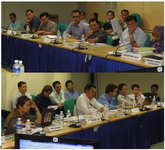 Mesyuarat Jawatankuasa Keselamatan dan Kesihatan Pekerjaan (JKKP) Bil 2/2012, JPS Sabah 633