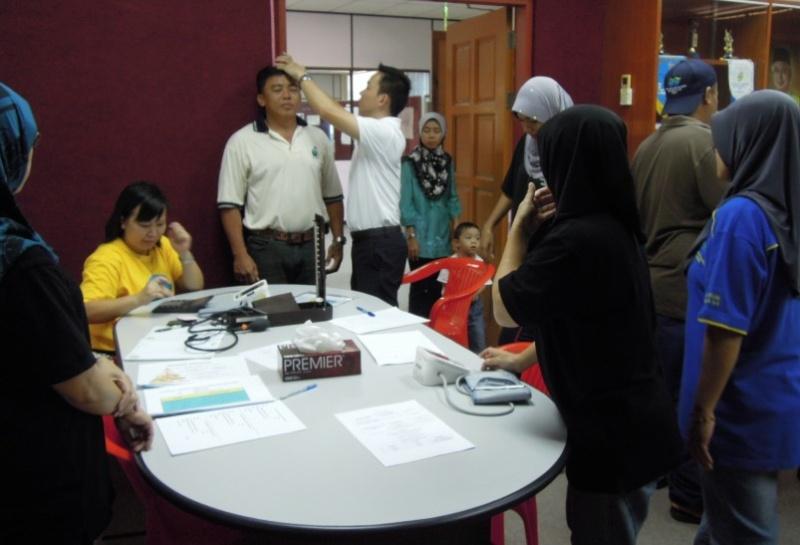 Sesi Seminar Kesihatan di Pesta Sukan Tahunan KSH JPS Sabah 650