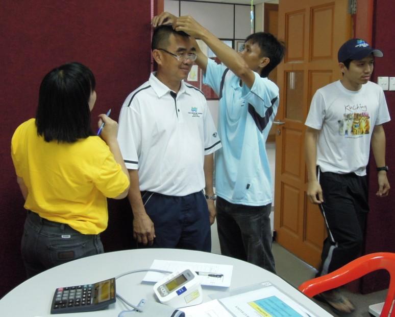 Sesi Seminar Kesihatan di Pesta Sukan Tahunan KSH JPS Sabah 747