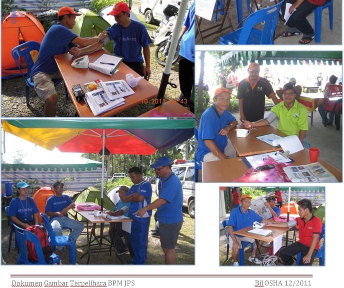 Kaunter Pemeriksaan Tekanan Darah Kakitangan JPS Sabah 914