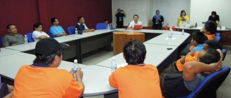Sesi Seminar Kesihatan di Pesta Sukan Tahunan KSH JPS Sabah 941