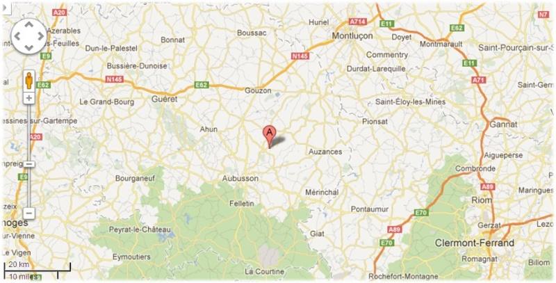 Creuse, le site des étangs de la Naute et Malleteix juillet 2012 Mapcha10