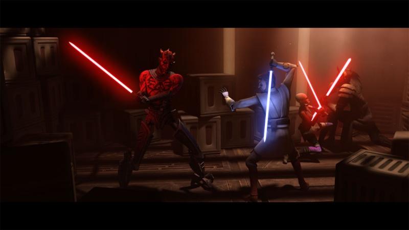 Screenshot de Clone en regardant Star Wars Clone Wars Maul_111