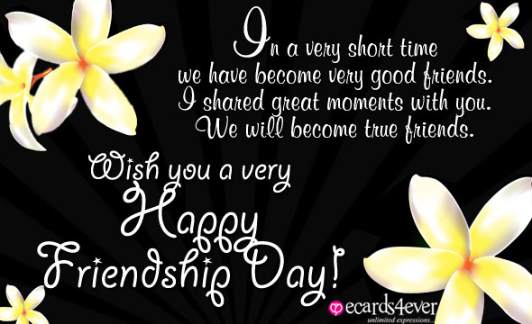 HAPPY FRIENDSHIP DAY  Happyf11