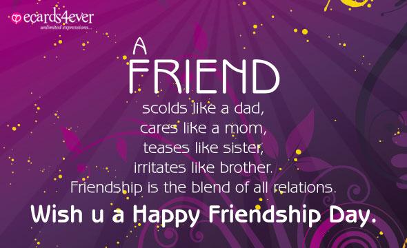 HAPPY FRIENDSHIP DAY  Happyf19