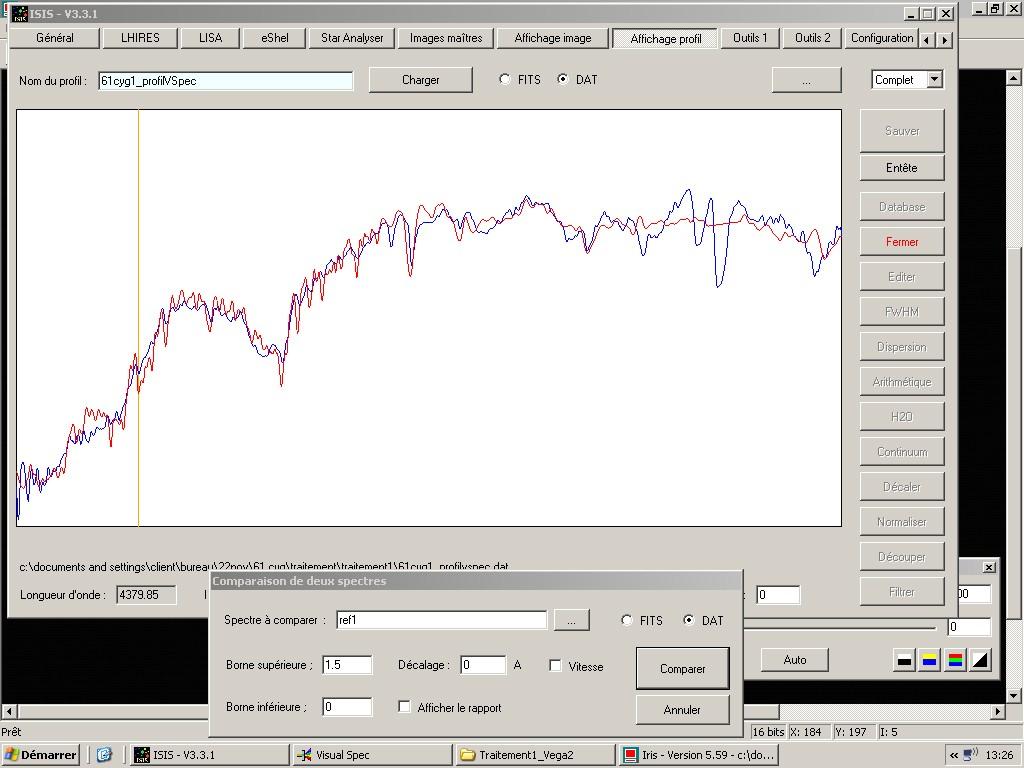 Premiers pas en Spectrographie  - Page 2 61cyg10