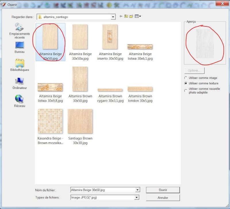 problème d'importation texture dans Sketchup Captur51