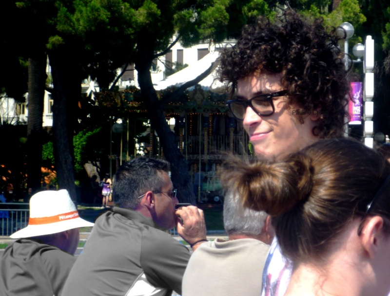 Julian sur la Promenade des Anglais pour la Crazy Week, 23.07.11 Forum610