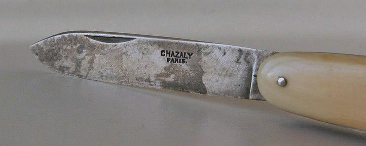 Le couteau Navette Nav_710
