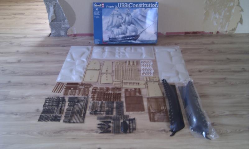 Baubericht USS Constitution von Revell in 1:96 Bilder12