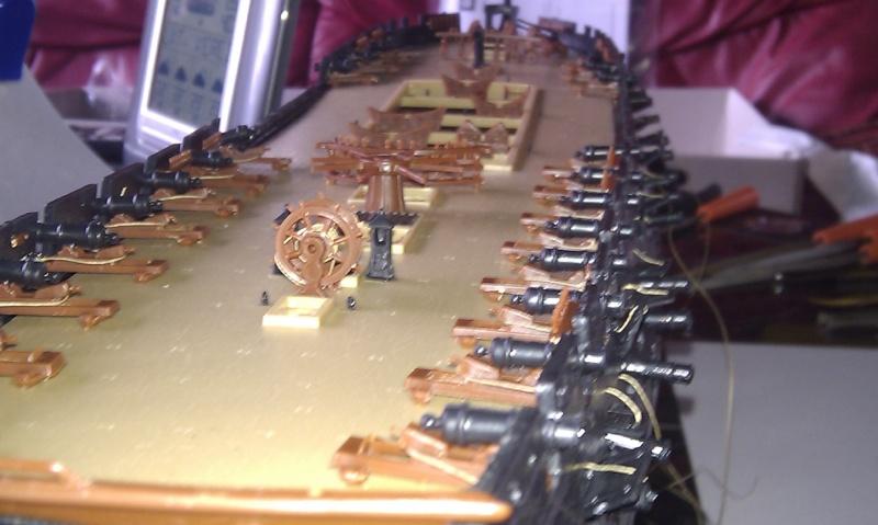 Baubericht USS Constitution von Revell in 1:96 Bilder14
