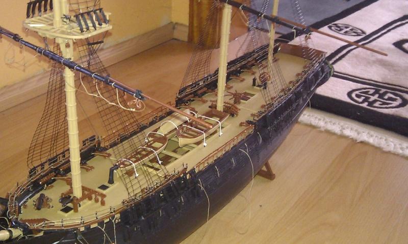 Baubericht USS Constitution von Revell in 1:96 - Seite 2 Bilder18