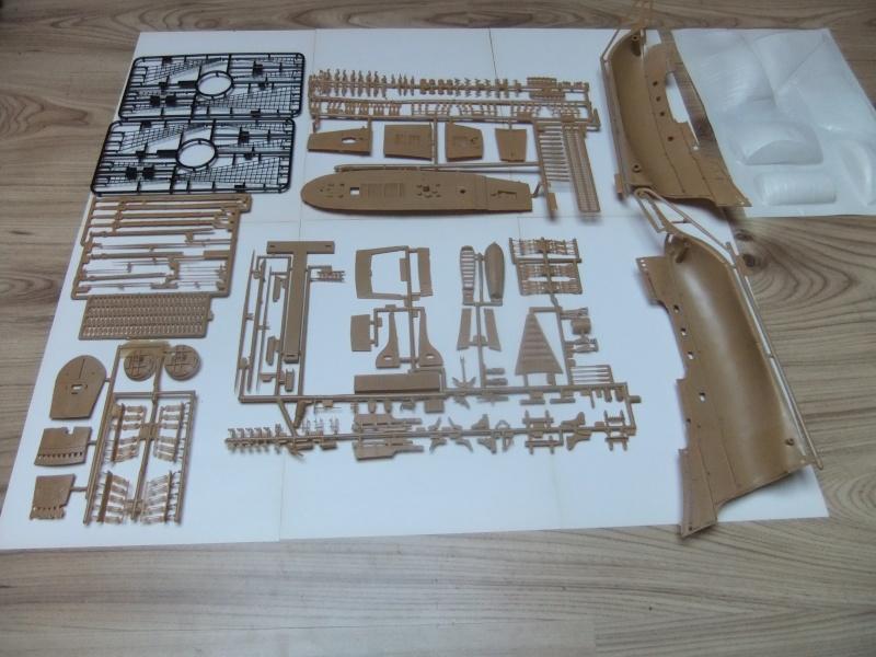 Baubericht: Golden Hind von Heller in 1:200 Dscf0313