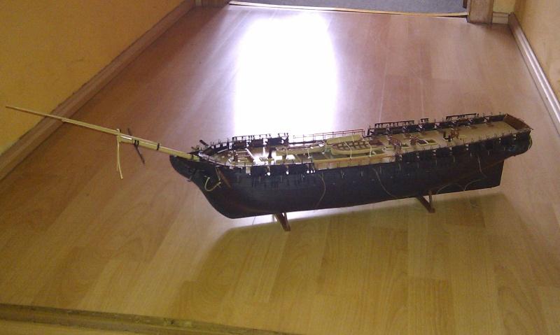 Baubericht USS Constitution von Revell in 1:96 Imag0013