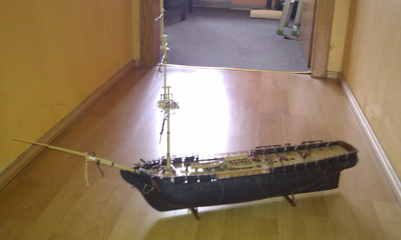 Baubericht USS Constitution von Revell in 1:96 Imag0014