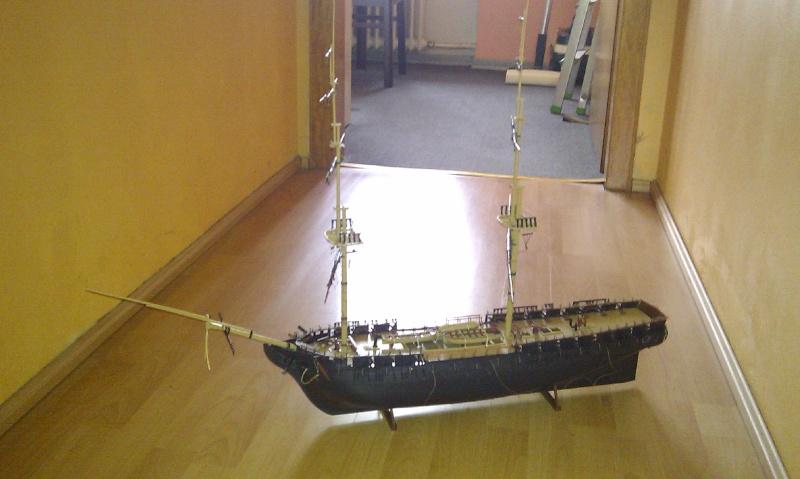 Baubericht USS Constitution von Revell in 1:96 Imag0015