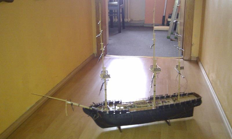 Baubericht USS Constitution von Revell in 1:96 Imag0016