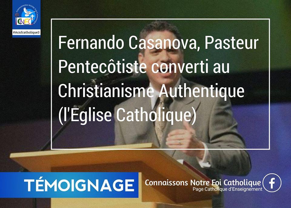 DES PASTEURS PROTESTANTS MAINTENANT DEVENUS CATHOLIQUES... 10062210