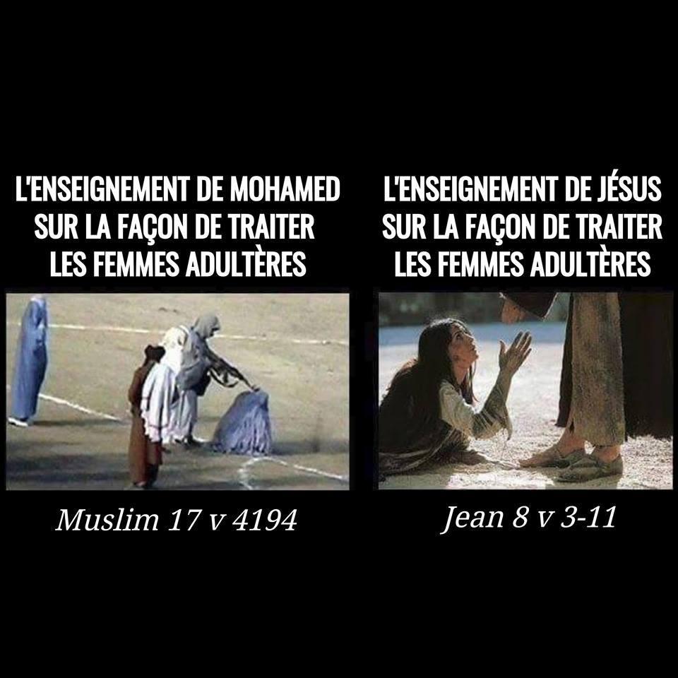 La femme adultère : Différence entre l'Islam et le Christianisme... 64708111