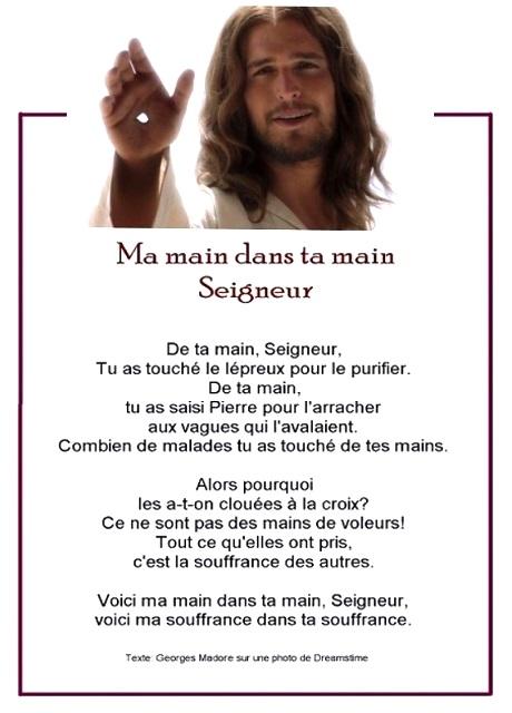 Ma main dans Ta main Seigneur... 71714610