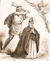 Les martyrs de l'Eglise primitive - À lire ! Merci mon Dieu de pouvoir encore professer notre foi ♥ Saint_10