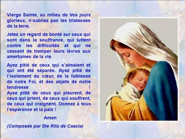 Besoin de votre prière et de vos conseils au sujet des cauchemars... - Page 2 Sainte10