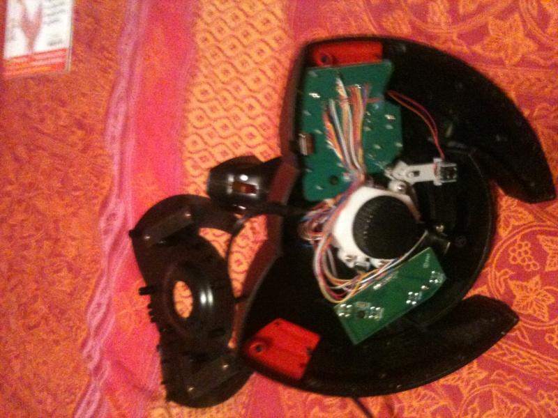joystick thrustmaster t.flight stick x démonter . Img_1411