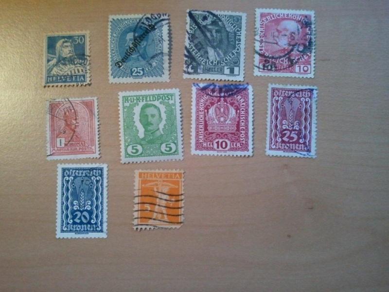 Wert dieser Briefmarken inkl. Foto 2011-010