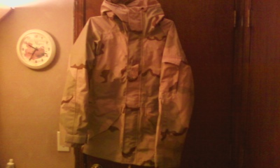 Adventure Tec Goretex US desert parka Photo113