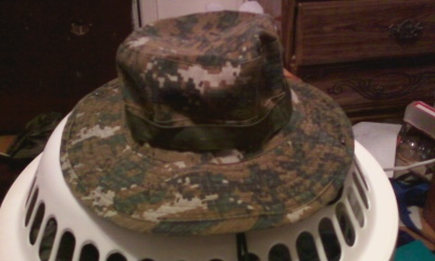 PLA woodland  jungle hat type 2 Photo124