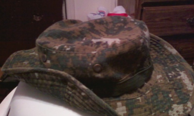 PLA woodland  jungle hat type 2 Photo125