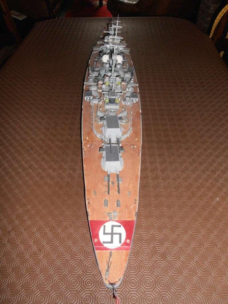 model 1/200 maquette du Bismarck Bismar10