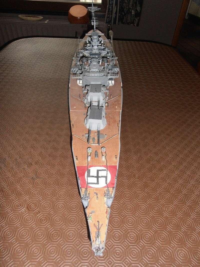 model 1/200 maquette du Bismarck Bismar11