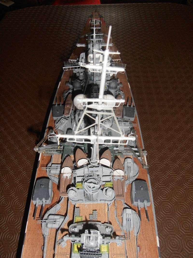 model 1/200 maquette du Bismarck Bismar17
