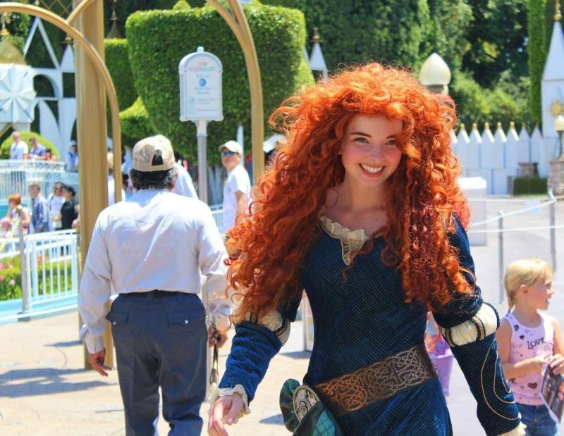 Merida, la nouvelle héroïne Pixar débarque dans les parcs Disney ! - Page 2 Tumblr11