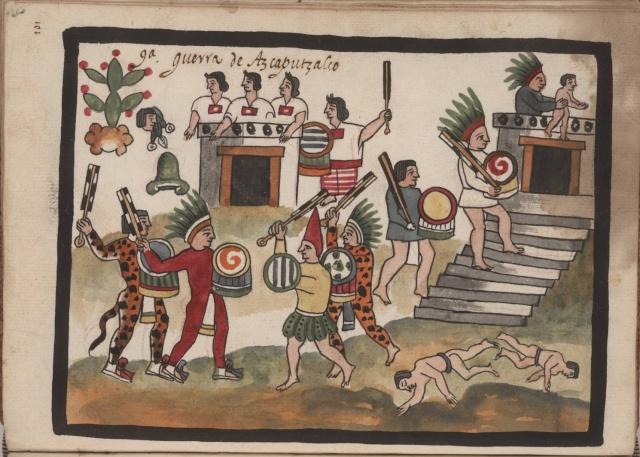 La Geste de Ce Acatl Topilitzin Quetzalcoatl Guerra10