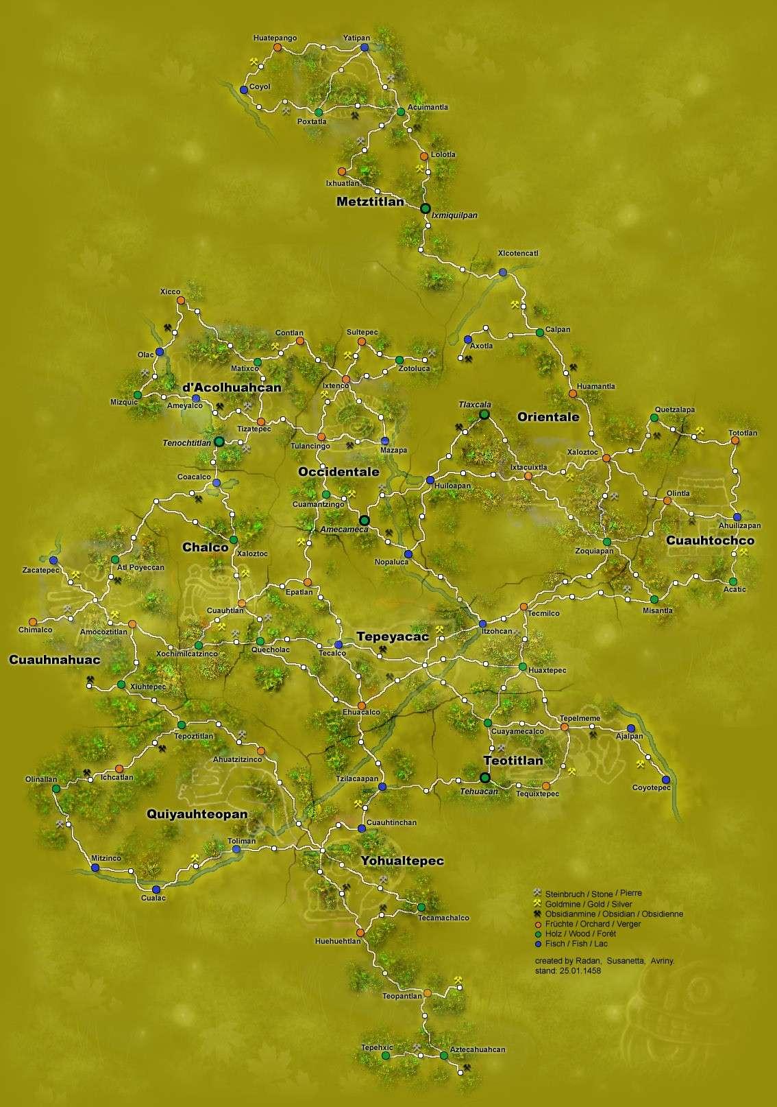 Carte Topographique du Monde Connu Karten11