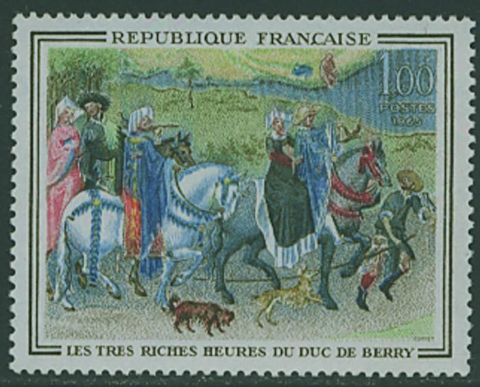 Frankreich`s Gemäldemarken Frankr26