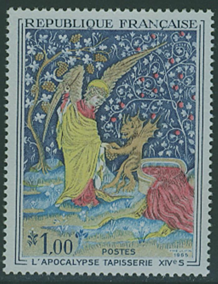 Frankreich`s Gemäldemarken Frankr27
