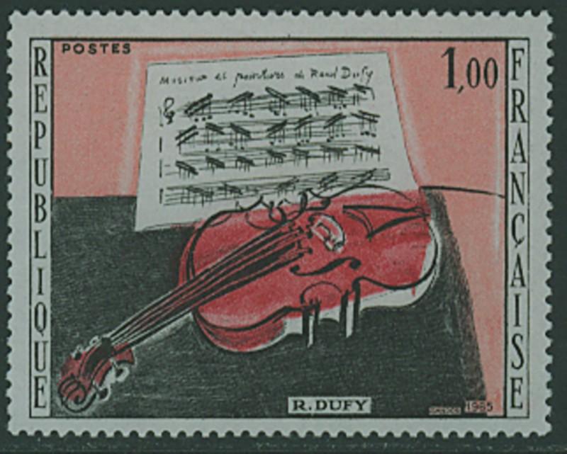 Frankreich`s Gemäldemarken Frankr28
