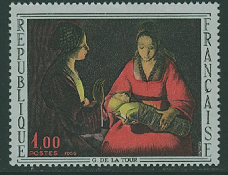 Frankreich`s Gemäldemarken Frankr30