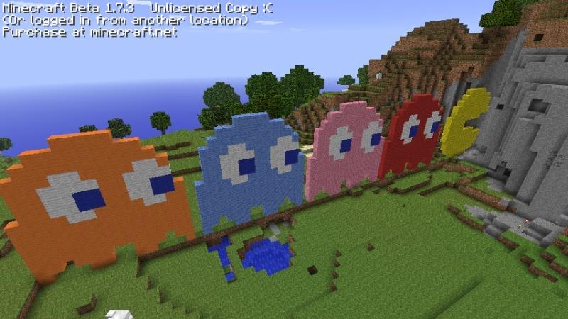 Minecraft art! 2011-016