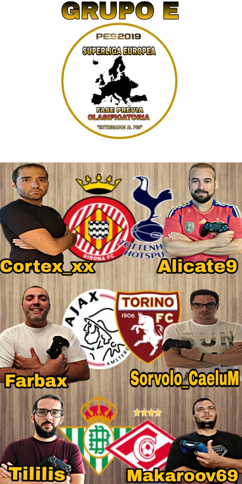 MANAGERS GRUPO E SUPERLIGA INTERNACIONAL Picsa131